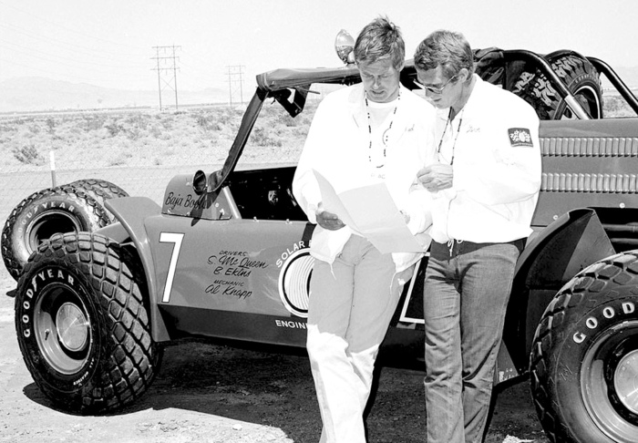 Ed Kretz Jr. & Sr. were longtime friends with fellow racers Bud Ekins and Steve McQueen.