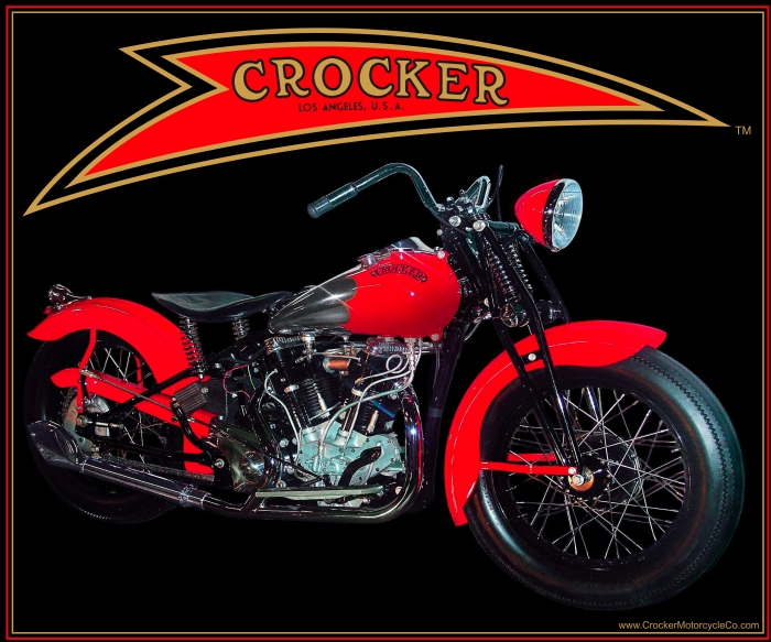 Crocker MC's Big Tank Parallel Valve V-Twin