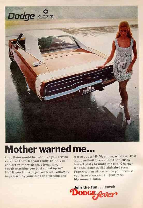 The 1968 Charger came in a choice of six interior and 17 exterior colors. Also in 1968, three out of every four Chargers sold were equipped with a vinyl top.