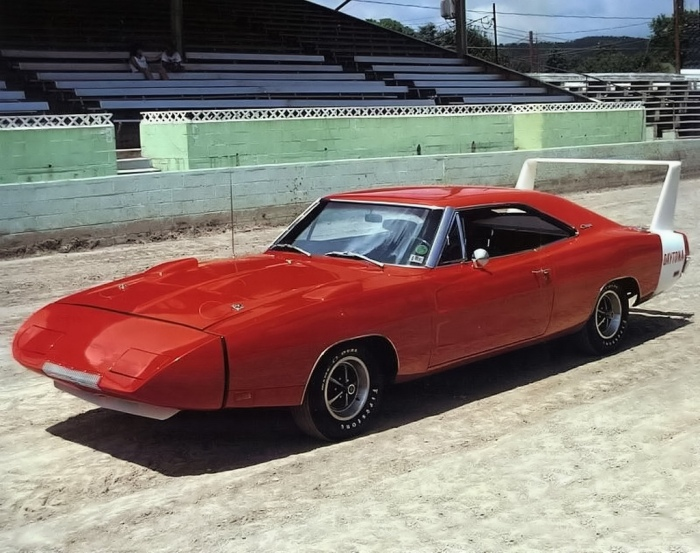 1A beautiful example of a 1969 Dodge Charger Daytona.