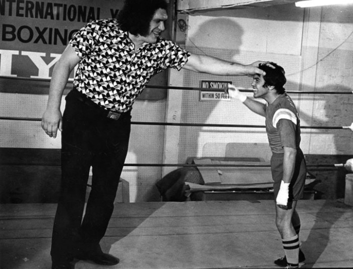 Giant Of Modern Photography At >> Proving That Size Does Matter Wrestling Legend Andre The Giant