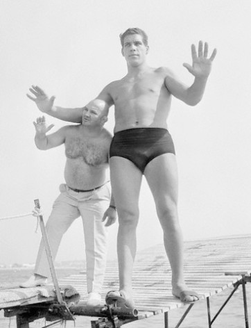 Boxing - Cheri-Bibi and Andre the Giant