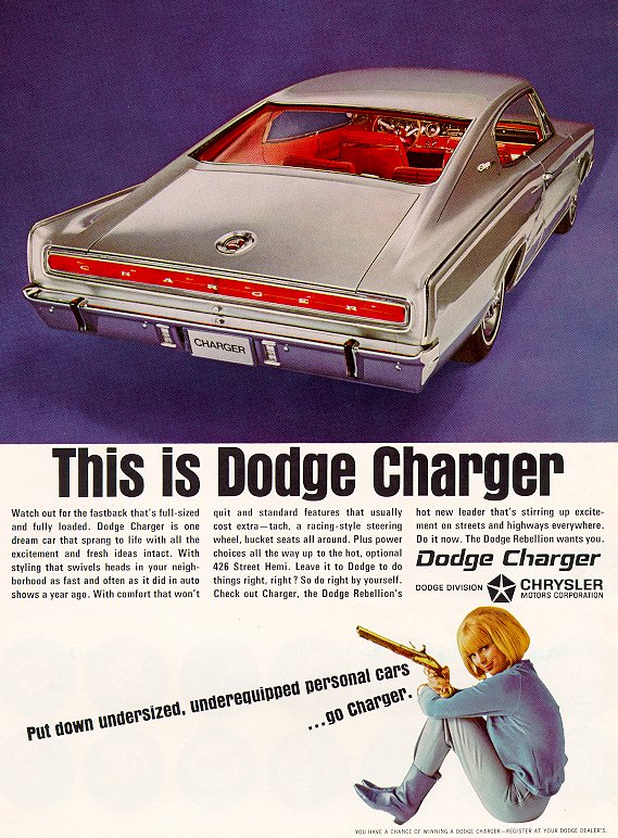 The 1966 Dodge Charger