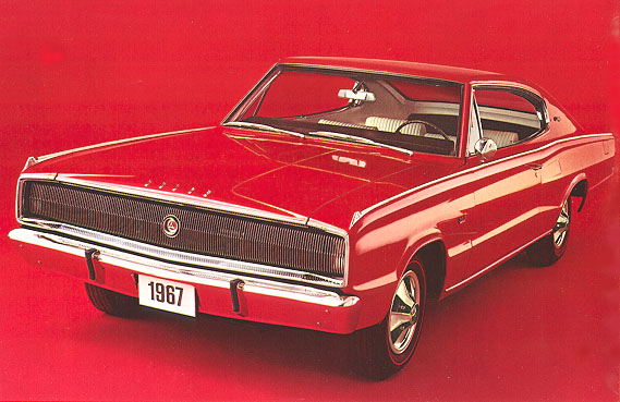 The 1967 Dodge Charger R/T