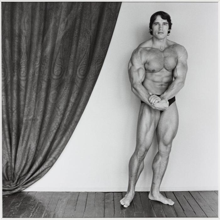 Arnold Schwarzenegger 1976, Robert Mapplethorpe