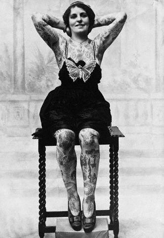 tattoo woman