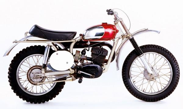 The bike that got American motocross off the ground-- the 1963 Husqvarna (Husky) Racer.