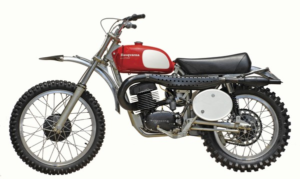 The Husqvarna 400 Cross-- The bike Steve McQueen made an overnight legend, and highly collectible.