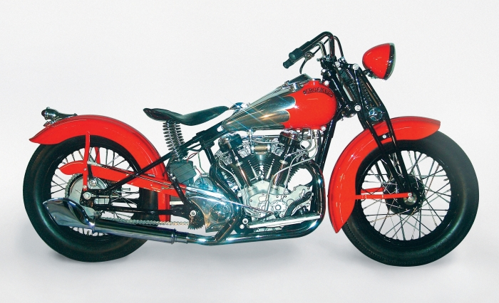 New Crocker Big Tank motorcycle built per the original 1938 factory specifications.
