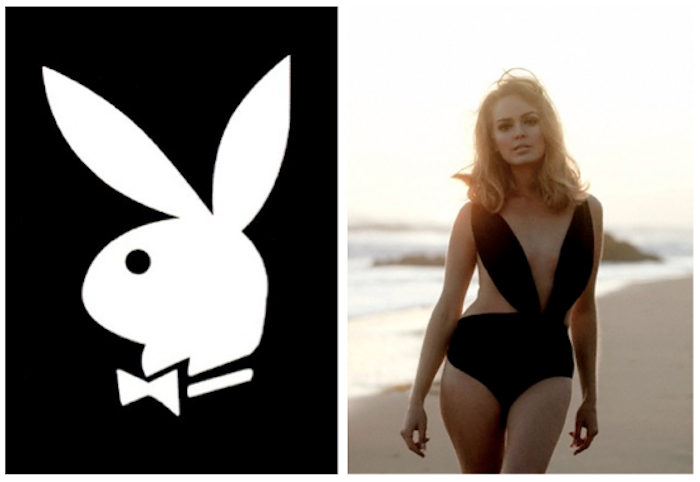 PLAYBOY BUNNY LOGO SWIMSUIT PLAYMATE
