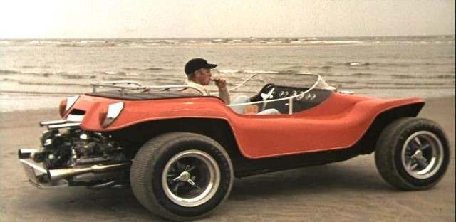 Steve McQueen's highly customized, Corvair powered, Meyers Manx dune buggy.