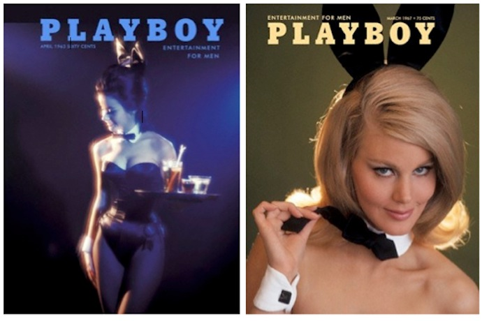 VINTAGE 1960S PLAYBOY MAGAZINE COVERS BUNNY