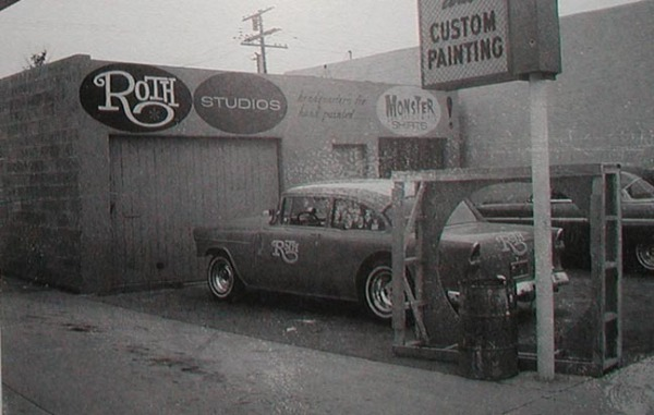 "Ed ""Big Daddy"" Roth's shop"