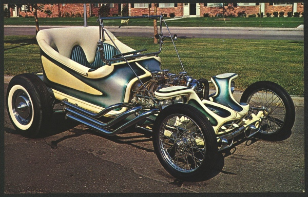 "Ed ""Big Daddy"" Roth custom hot rod"