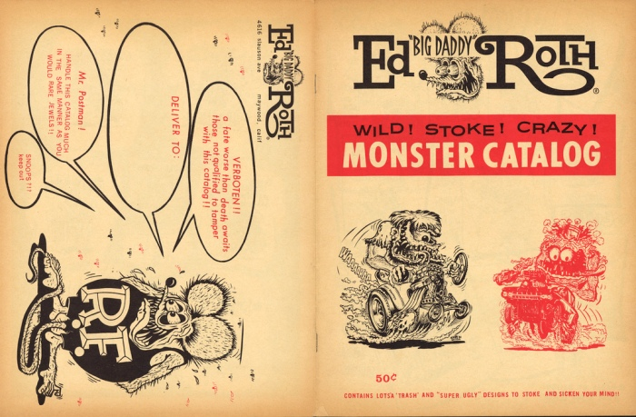 "Ed ""Big Daddy"" Roth monster catalog"