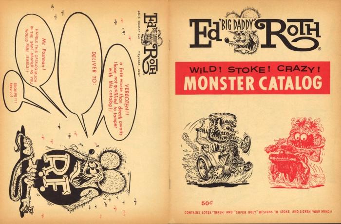 "Ed ""Big Daddy"" Roth monster catalog"