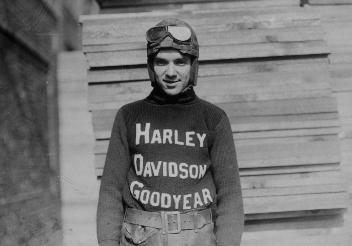 On August 14, 1921, Burns tragically lost his life in a racing accident in Toledo, Ohio. Coming out of a turn, Burns ran into the back of Ray Weishaar's bike. The impact sent Burns into the railing and he later died of massive head injuries. Sadly, Burns' fiancée, Genevieve Moritz, had come to Toledo to deliver a birthday gift and stayed to watch the race and witnessed the fatal accident. Motorcycling deeply mourned the loss of Burns. Numerous tributes were written about him for weeks after the accident.