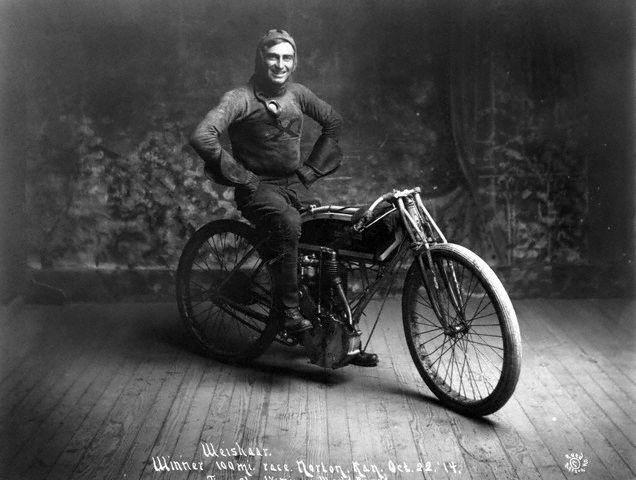 """Ray """"Kansas Cyclone"""" Weishaar back in 1914."""