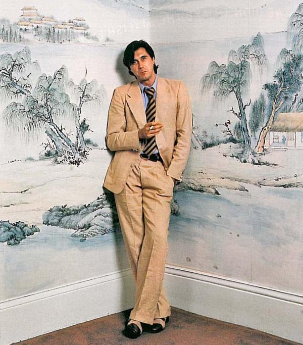 Style Icon-- Bryan Ferry.