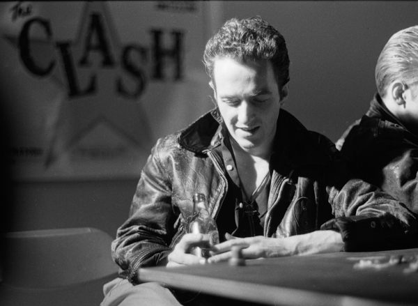 Joe Strummer of The Clash, circa 1981.  (Photo by Lisa Haun/Michael Ochs Archives/Getty Images)