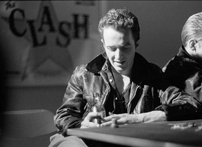 Joe Strummer of The Clash, circa 1981.  (Photo by Lisa Haun/Michael Ochs Archives/Getty Images)