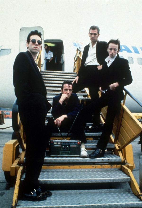 The Clash, legends of music and 1980's rocker fashion. Photo by Rex USA ( 88672C )