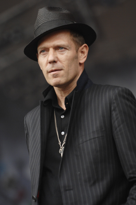 Super-smooth Paul Simonon of The Clash.