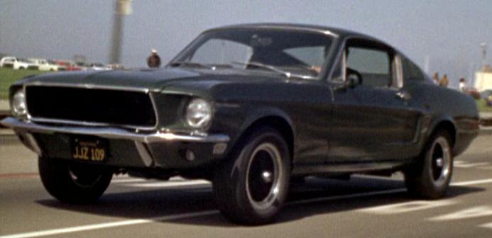 1968 ford mustang gt bullitt