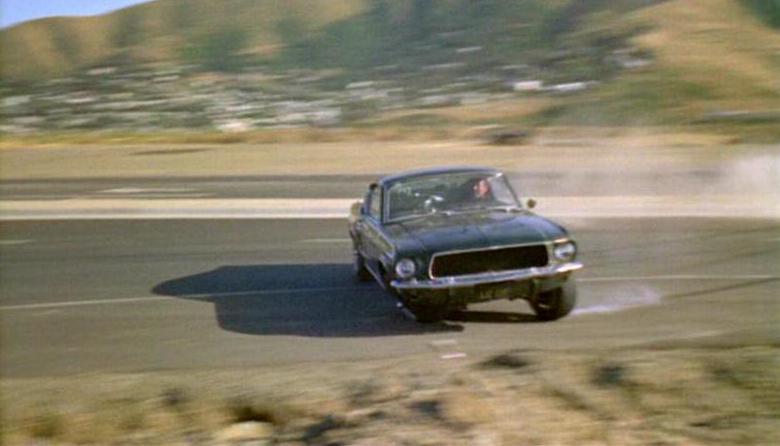 Bullitt Mustang Bud Ekins