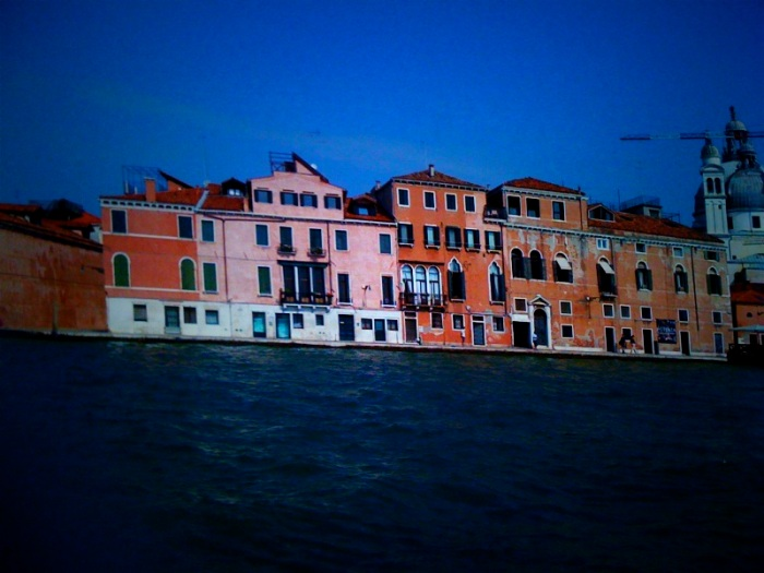 Venice is high on charm, especially when get away from the gaggle of gaudy power-lux-brand shops-- riding the water taxis provides access to some pretty great views.