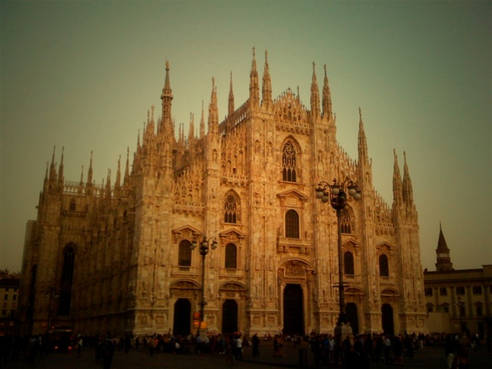 Milan Cathedral, Duomo.  Stunning.