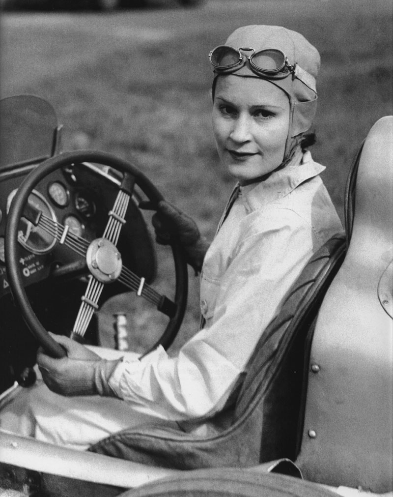 Legendary British race car driver~ Kay Petre