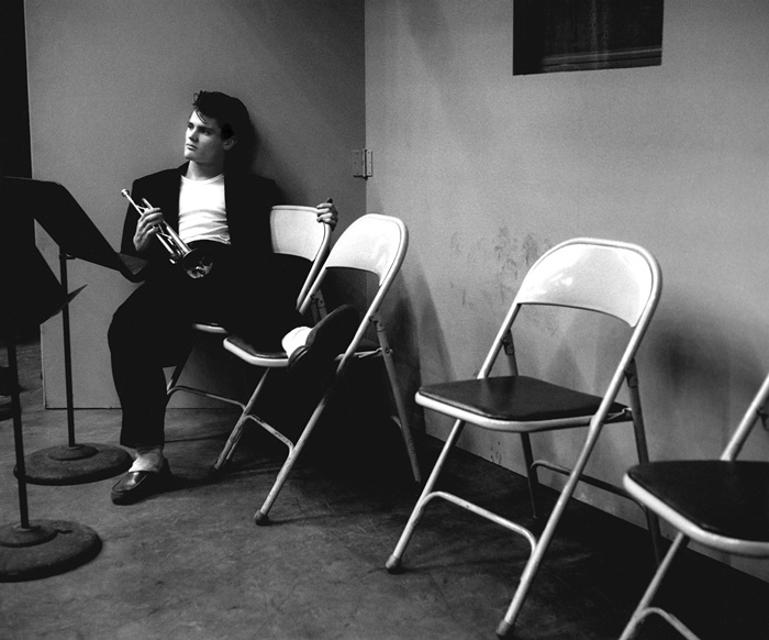Chet Baker  --Bob Willoughby