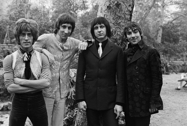 Roger Daltrey, Pete Townswen, John Entwistle & Keith Moon of The Who, ca. 1968.