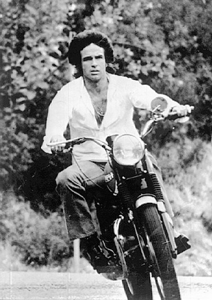 Warren Beatty motorcycle