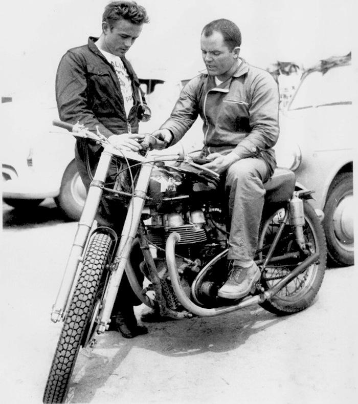 john_mclaughlin_James_Dean_motorcycle
