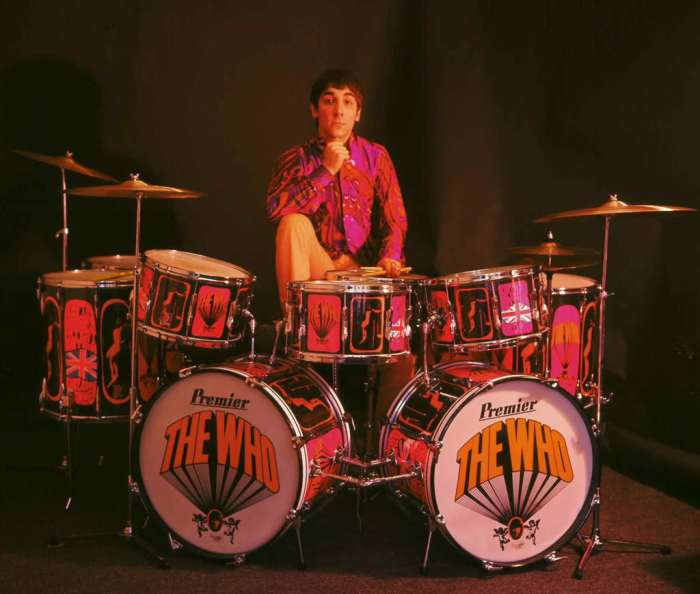 Keith Moon, (in)famous drummer for The Who