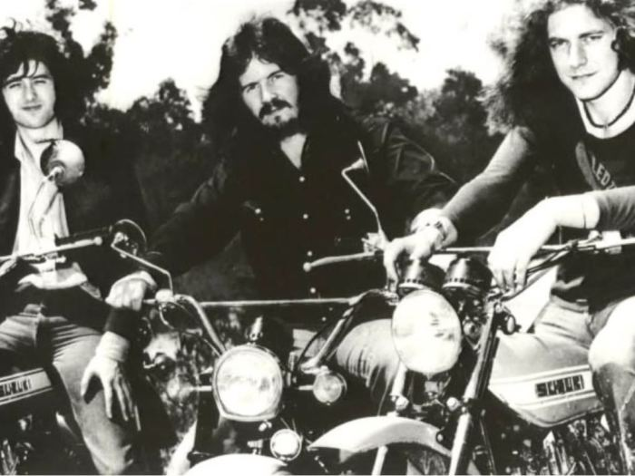 LED ZEPPELIN MOTORCYCLE