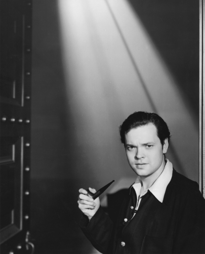 Hollywood film icon Orson Welles