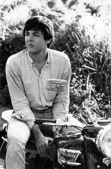 paul mccartney motorcycle
