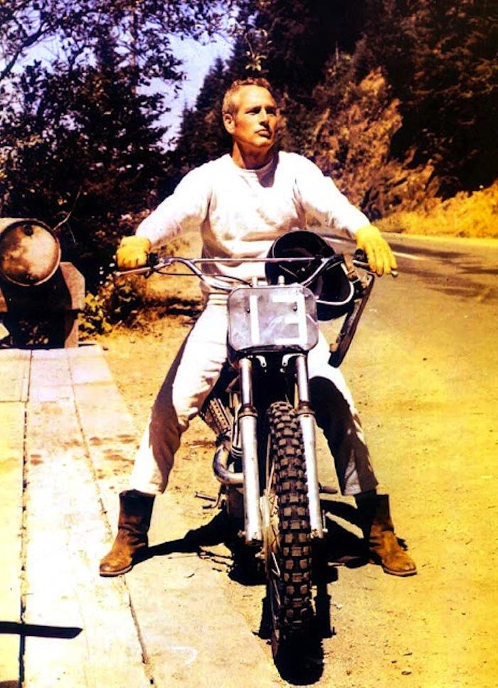 paul newman dirtbike