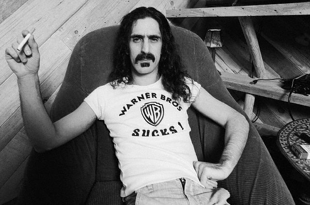 Frank Zappa thinks Warner Bros. Sucks, ca. 1979.