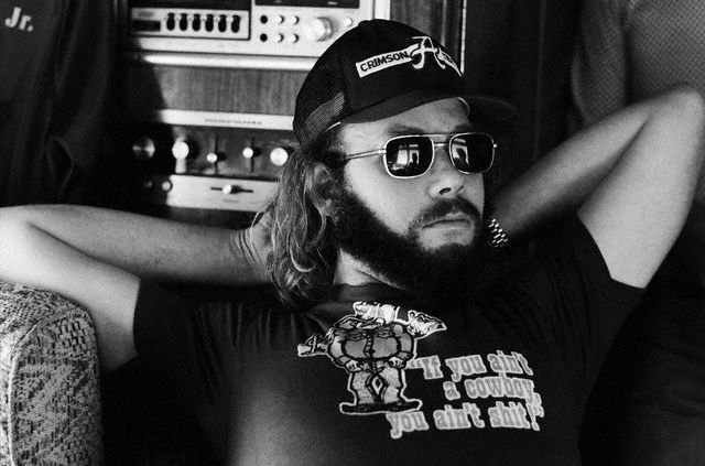 "Hank William Jr. (Bochepus), ca. 1979  ""IF YOU AIN'T COUNTRY, YOU AIN'T SH*T"""