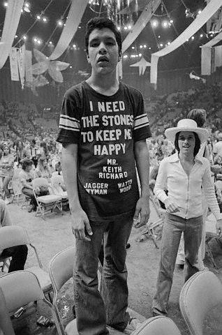 Rolling Stones concert t-shirt