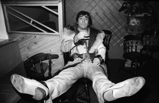 Keith Moon of The Who, ca. 1976.