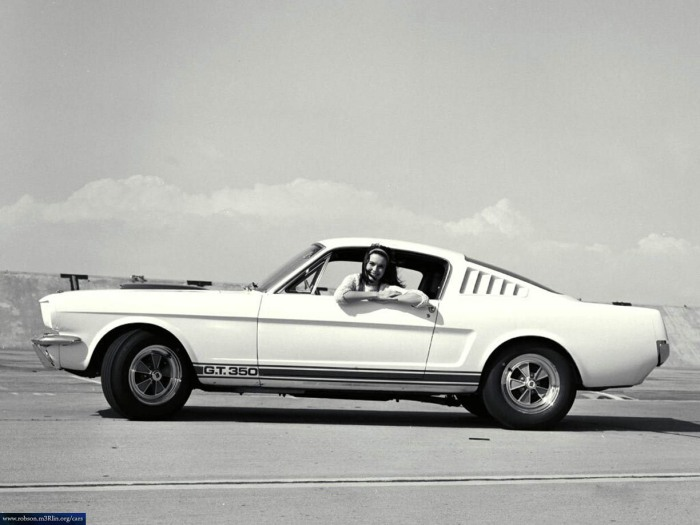 The legendary Shelby Mustang GT350