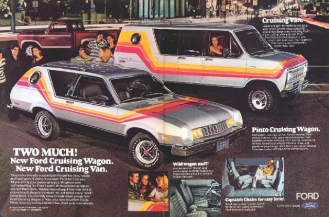 1970s cruising van wagon