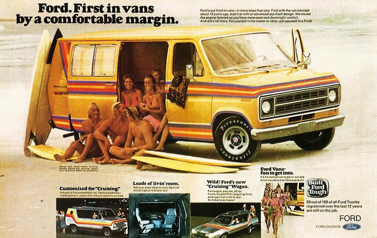 1970s ford van