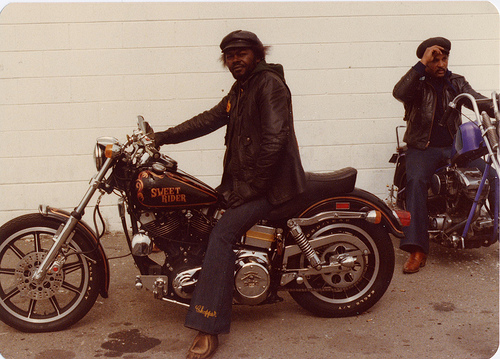 East Bay Dragons Motorcycle Club Harley sweet rider