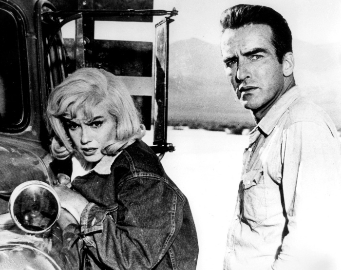 Marilyn Monroe Montgomery Clift The Misfits